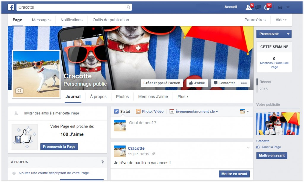 PAGE FB CRACROTTE